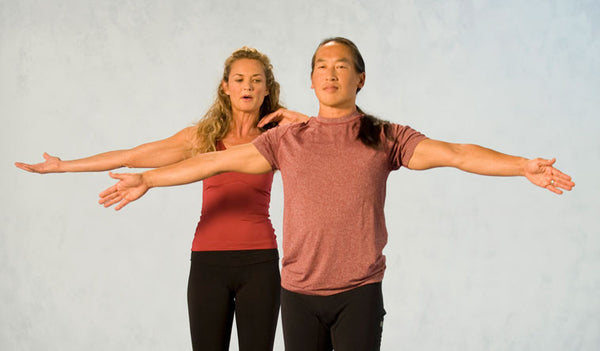 Sun Salutation How-to from Rodney Yee's Yoga for Beginners