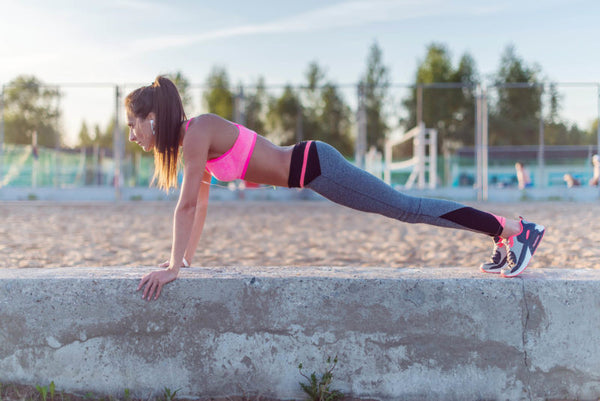 5 Steps to Push-Ups on Your Toes