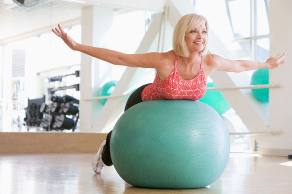 Balance Ball Therapy: 4 Exercises for Back and Knee Problems