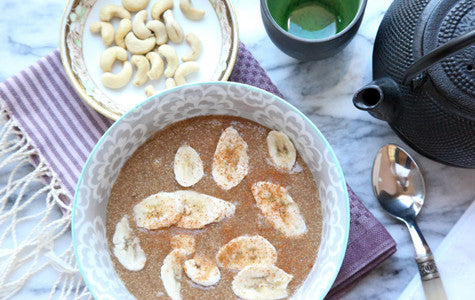 Recipe: Cinnamon Amaranth Porridge