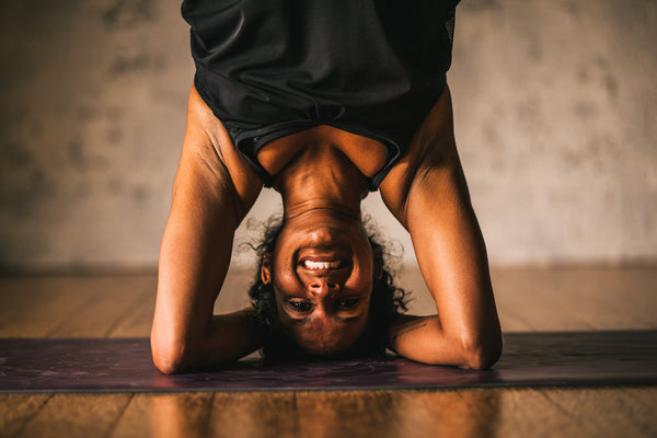 Go Upside Down to Lighten Up! Stress Less with Inversions