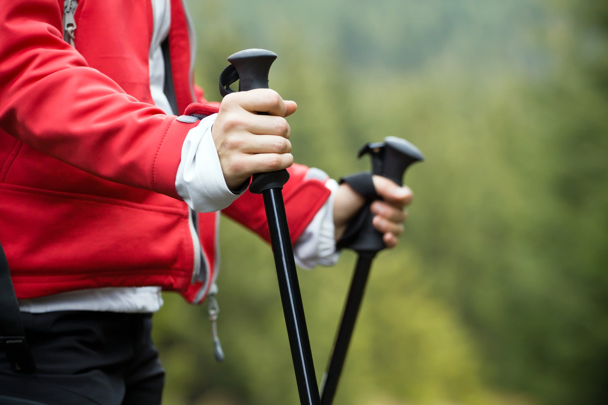 How Walking Poles Changed My Mind About Fitness Walking