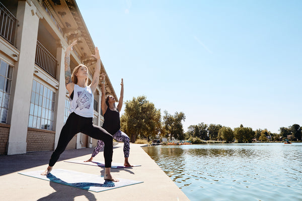 Behind The Scenes Yoga Photoshoot At Denver S Historic