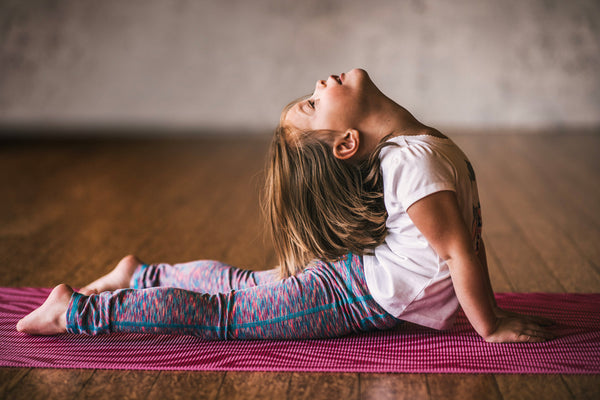 Kid-Friendly Yoga Practice for Spring