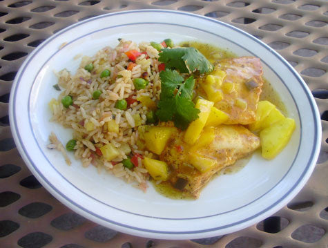Cilantro-Lime Chicken with Mango