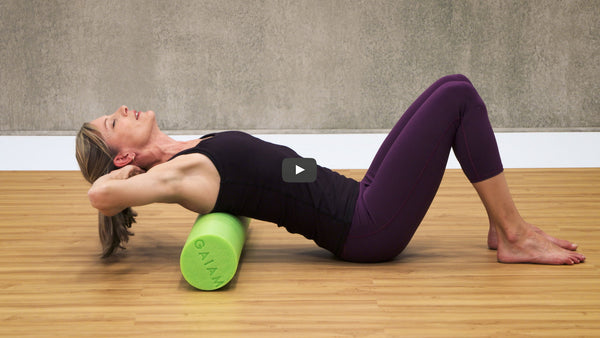 Foam Rolling to Find Balance