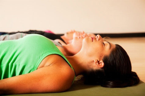 how to quiet your mind in savasana  gaiam