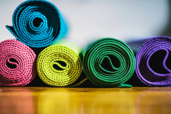 New Yoga Mat? Eliminate the Smell