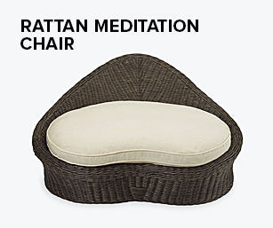 Shop the Rattan Meditation Chair