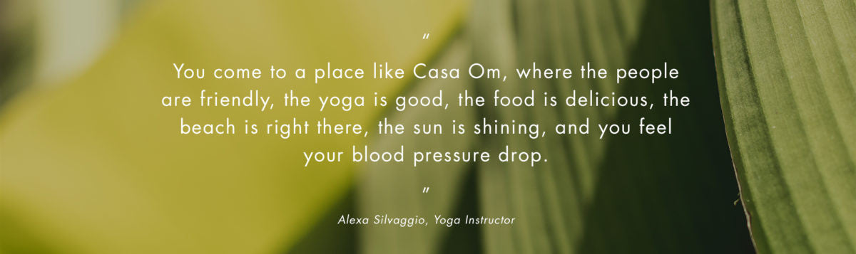 Yoga in the Mayan Riviera Quote