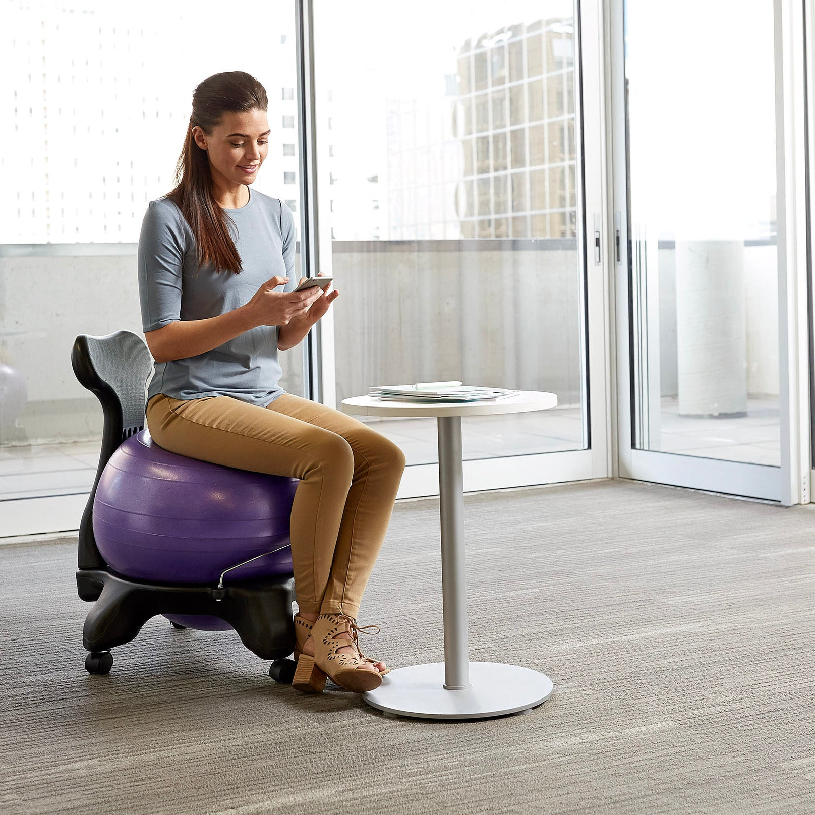 Sitting Chair: Classic Balance Ball® Chair
