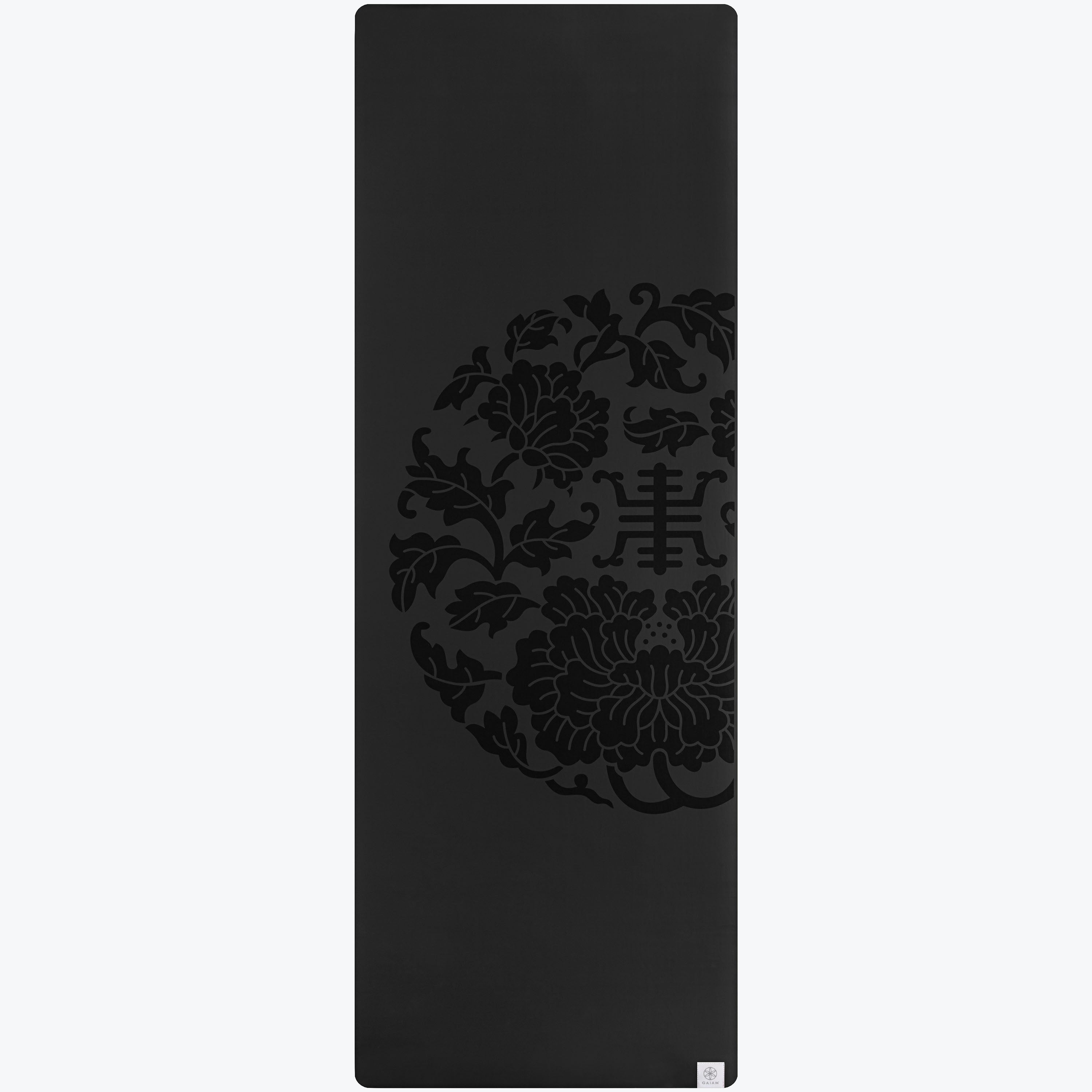 Performance Longer Wider Dry Grip Yoga Mat 5mm Gaiam