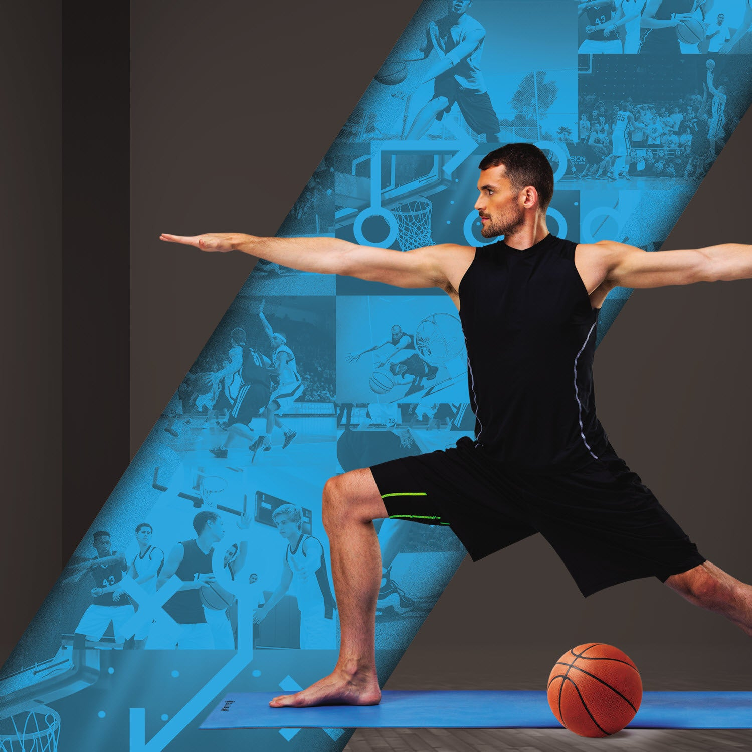 With the Gaiam Athletic Yoga: Yoga For Flexibility DVD With Kevin Love, you can enjoy your workout from home, at your own pace - without having to worry about gym hours, babysitters, anything! This fitness DVD focuses on lengthening the body and increase mobility & agility with NBA All-Star, Kevin Love.