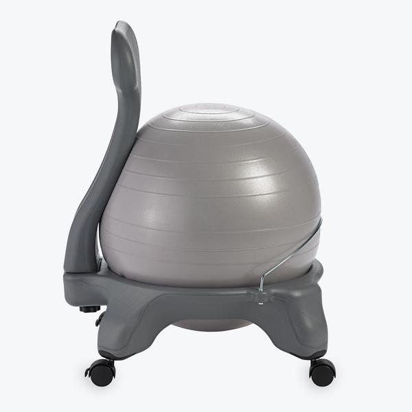 classic balance ball chair gaiam rh gaiam com Yoga Ball Exercises Yoga Ball AB Workouts