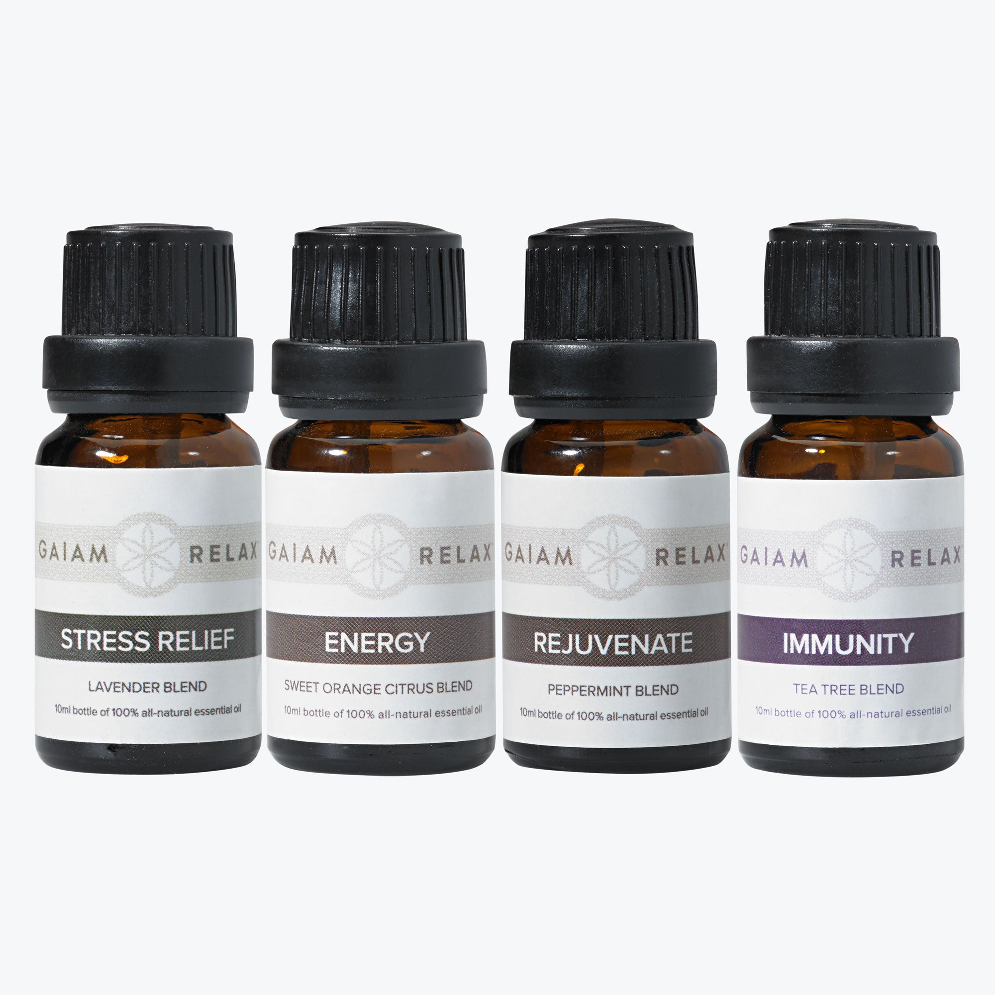 Gaiam Relax Essential Oils - 4 Pack