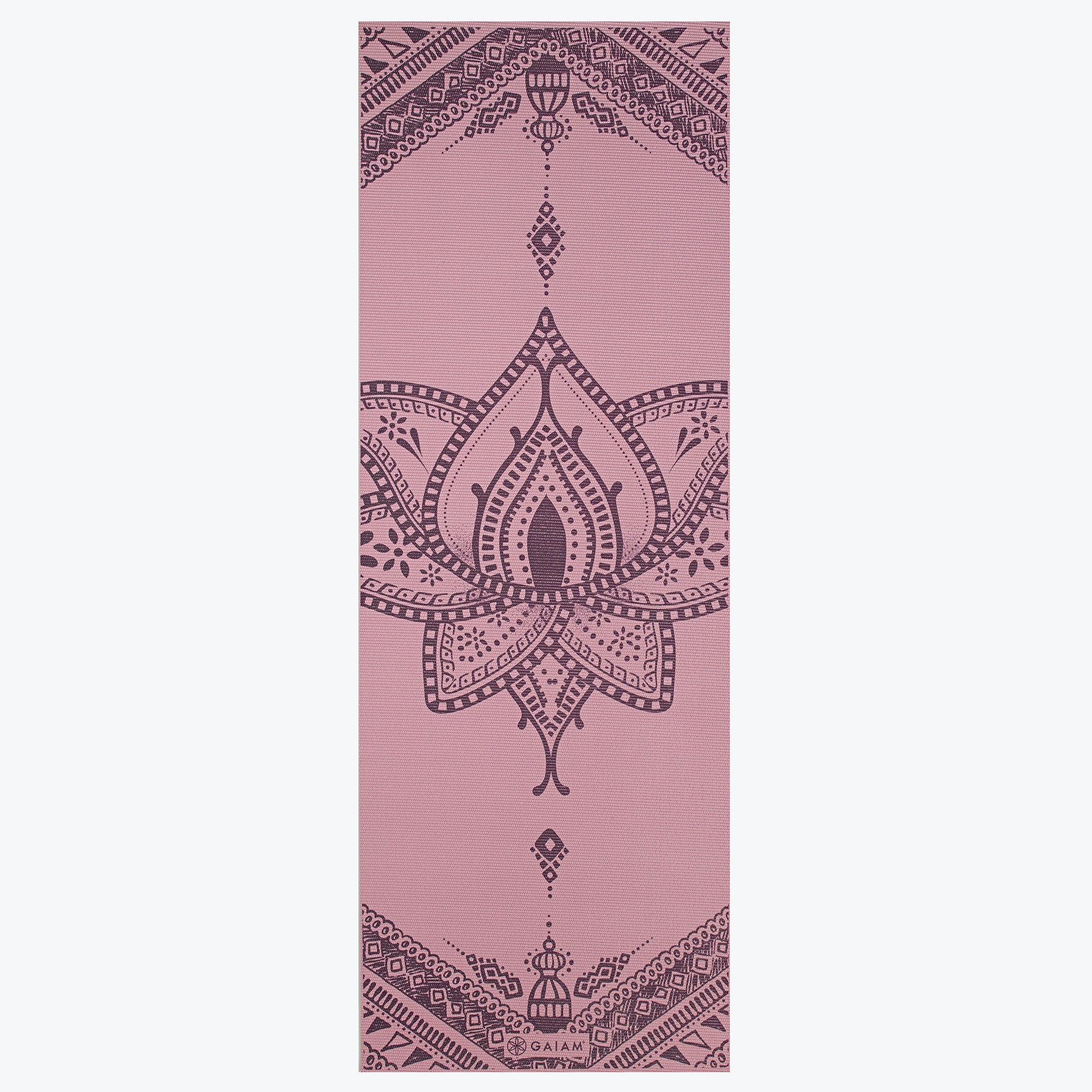 Reversible Inner Peace Yoga Mat 6mm Gaiam