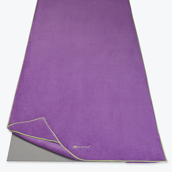 Stay-Put Yoga Towel