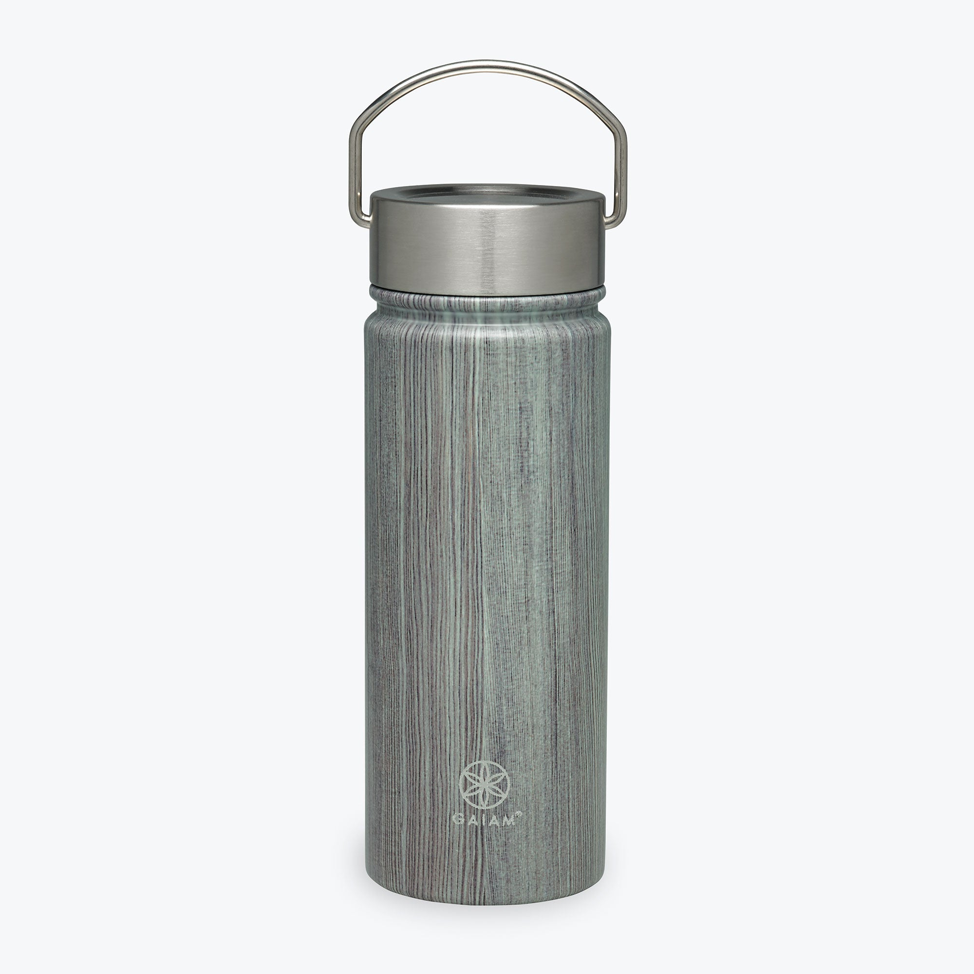 Stainless Steel Wide Mouth Water Bottle 18oz Gaiam