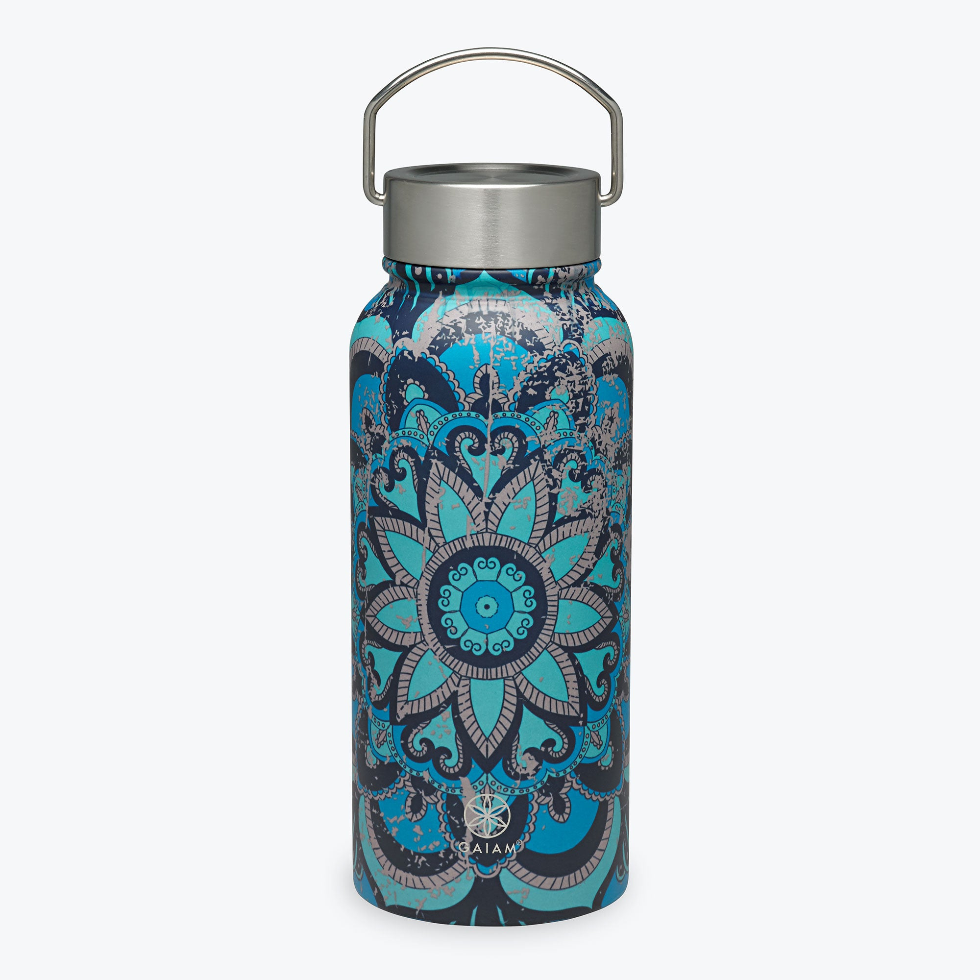 Image of Stainless Steel Wide Mouth Water Bottles (32oz)