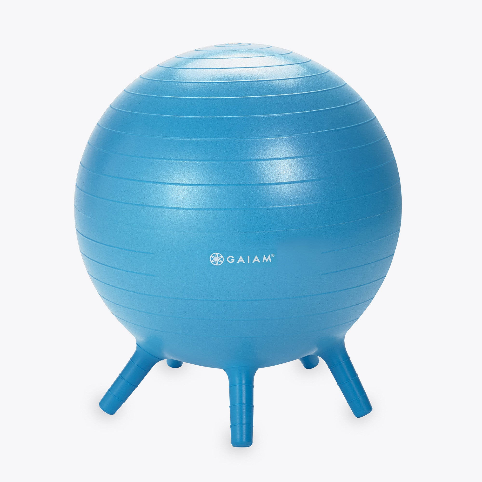 Gaiam Kids Stay-N-Play Balance Ball Alternative Seating XL 52cm, Blue