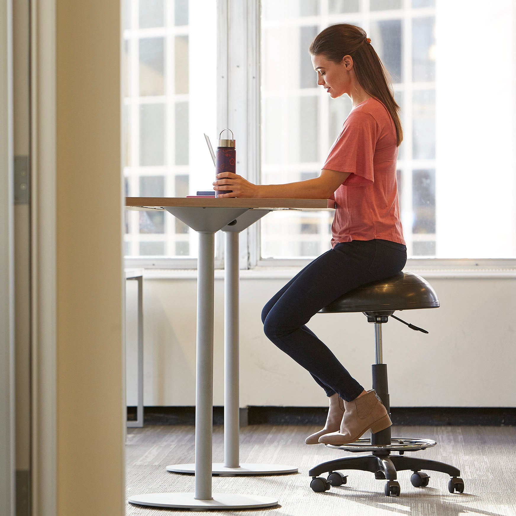 High Rise Balance Ball 174 Stool Gaiam