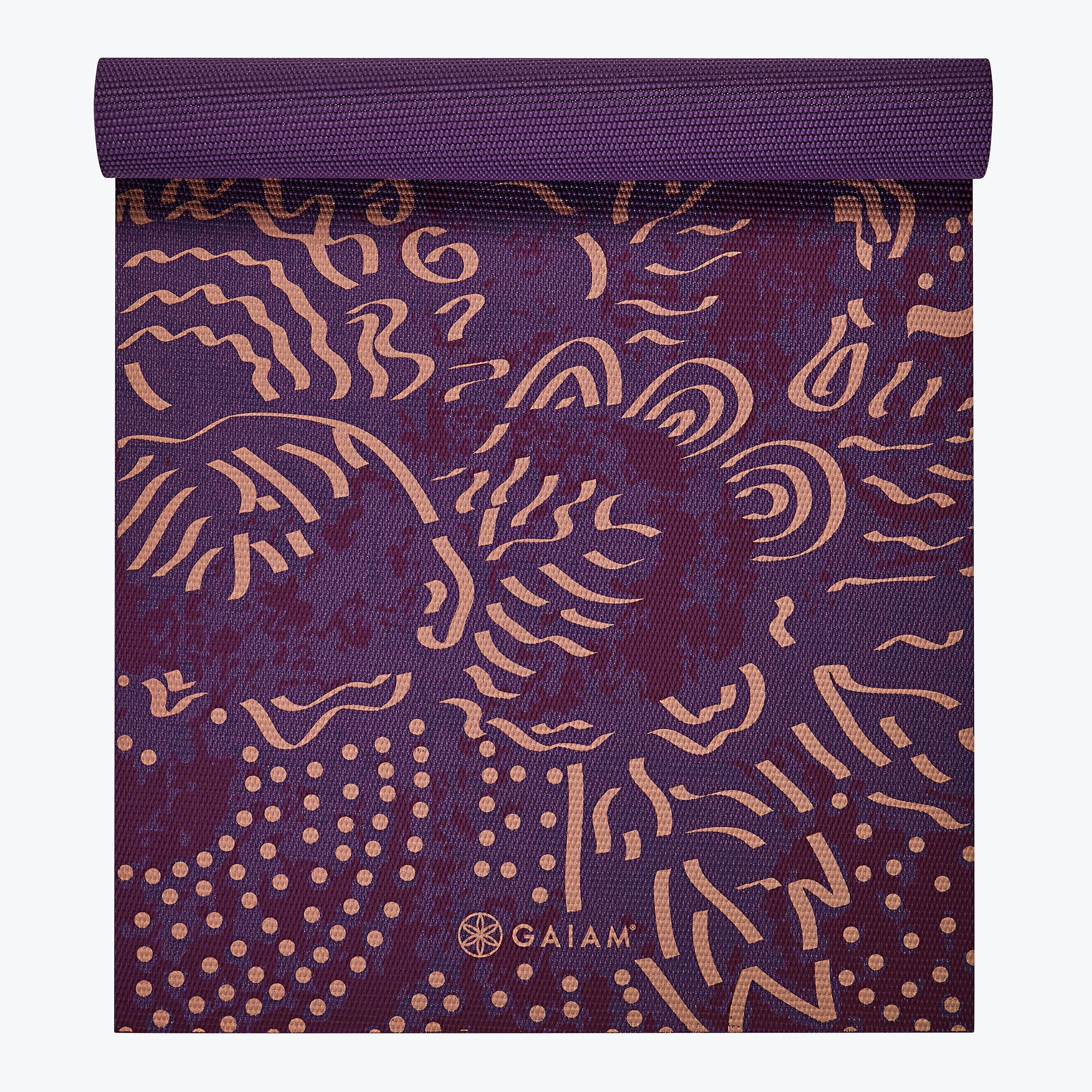 Image of Mulberry Cluster Yoga Mat (4mm)