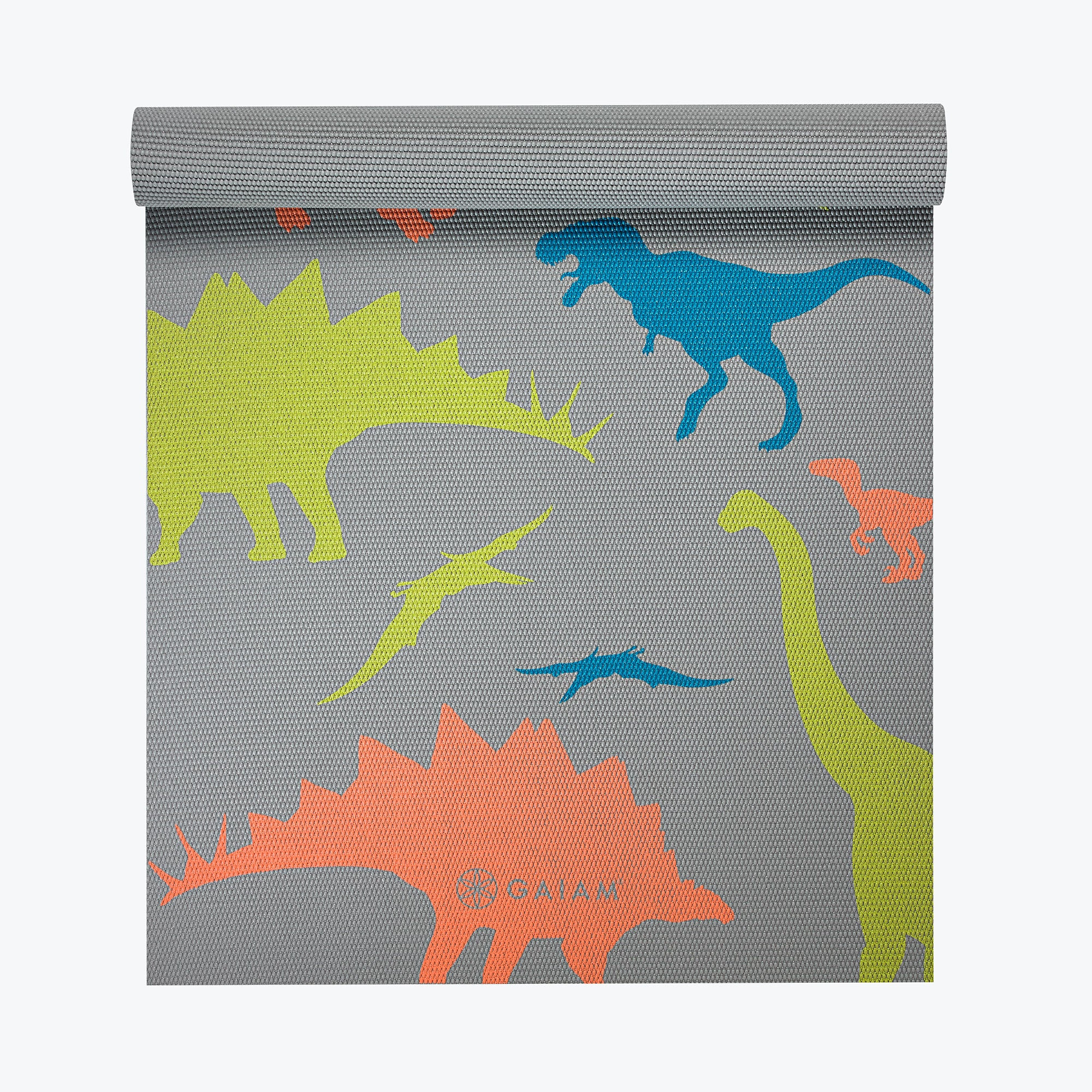 Gaiam Kids Dino Zone Yoga Mat (4mm)