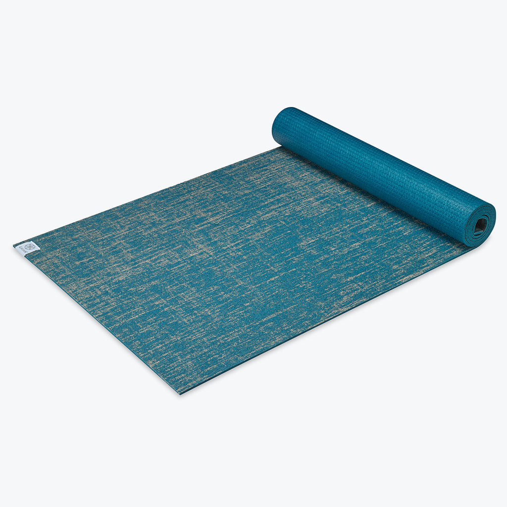 regalos para veganos: 6mm performance jute yoga mat