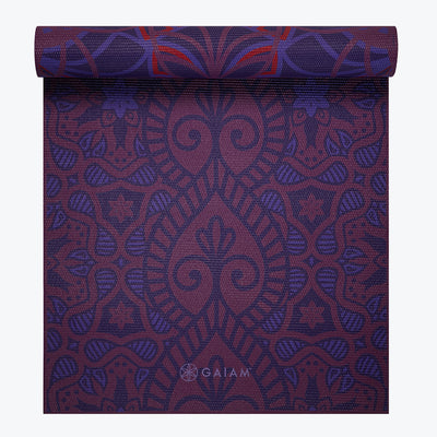 GAIAM 05-61548  KIKU REVERSIBLE YOGA MAT 5MM
