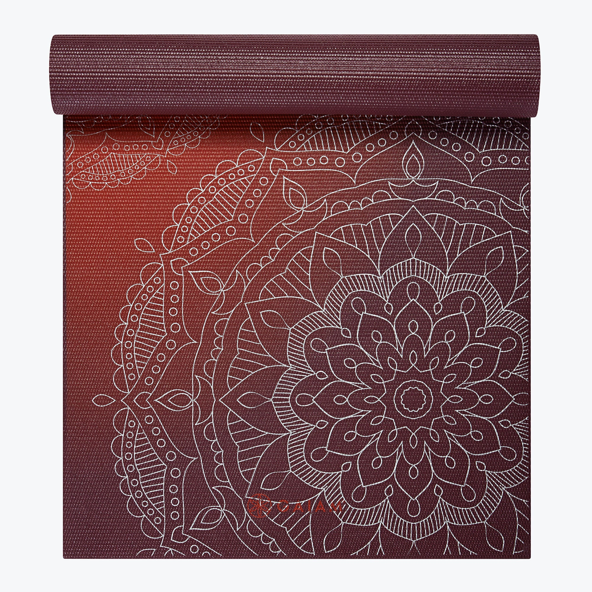 Image of Premium Metallic Sunset Yoga Mat (6mm)