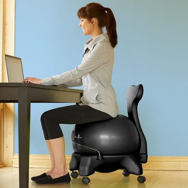 home exercise office about ideas chair remodel nice with epic ball small cons pros