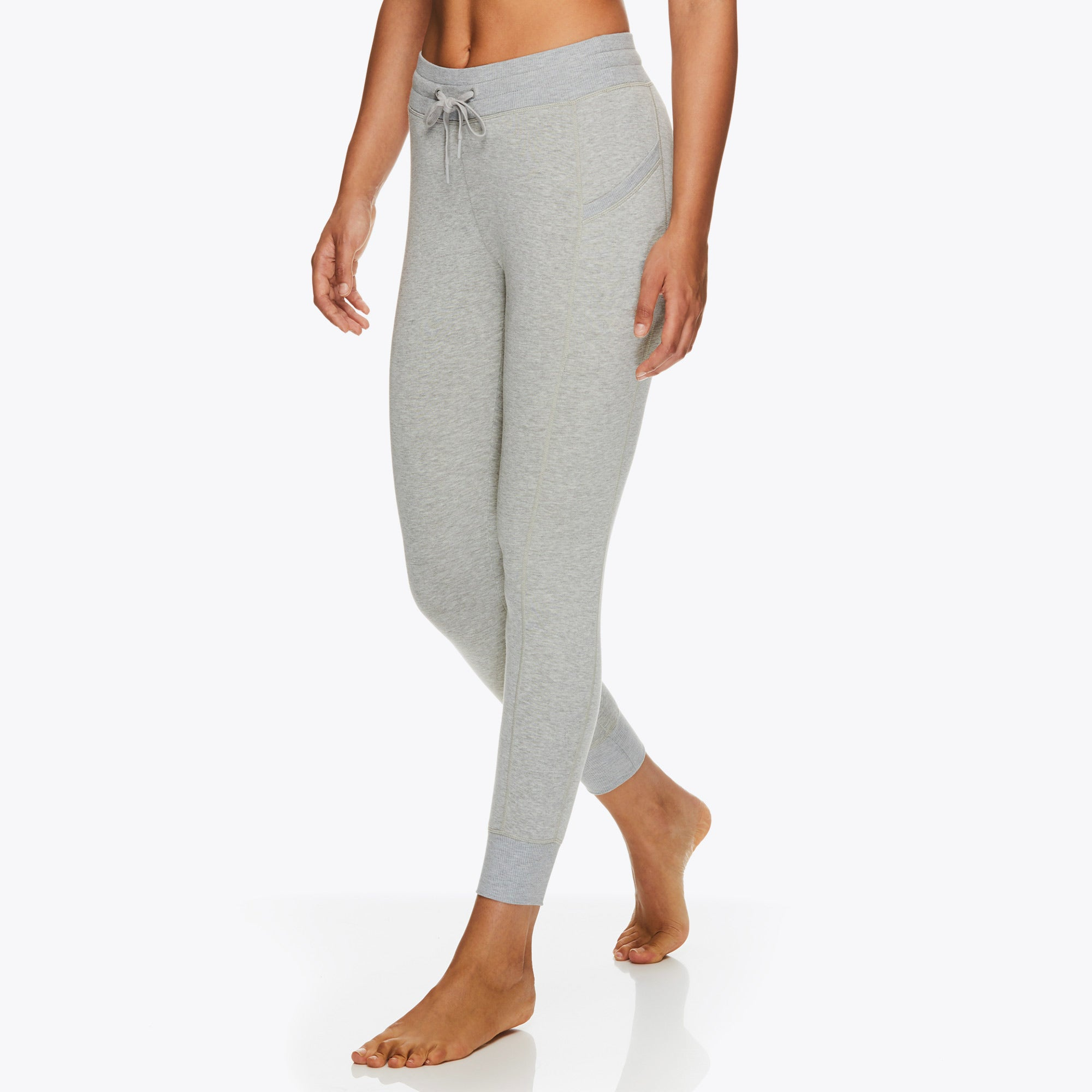 Image of Gaiam X Jessica Biel Flow Fleece Fitted Pant