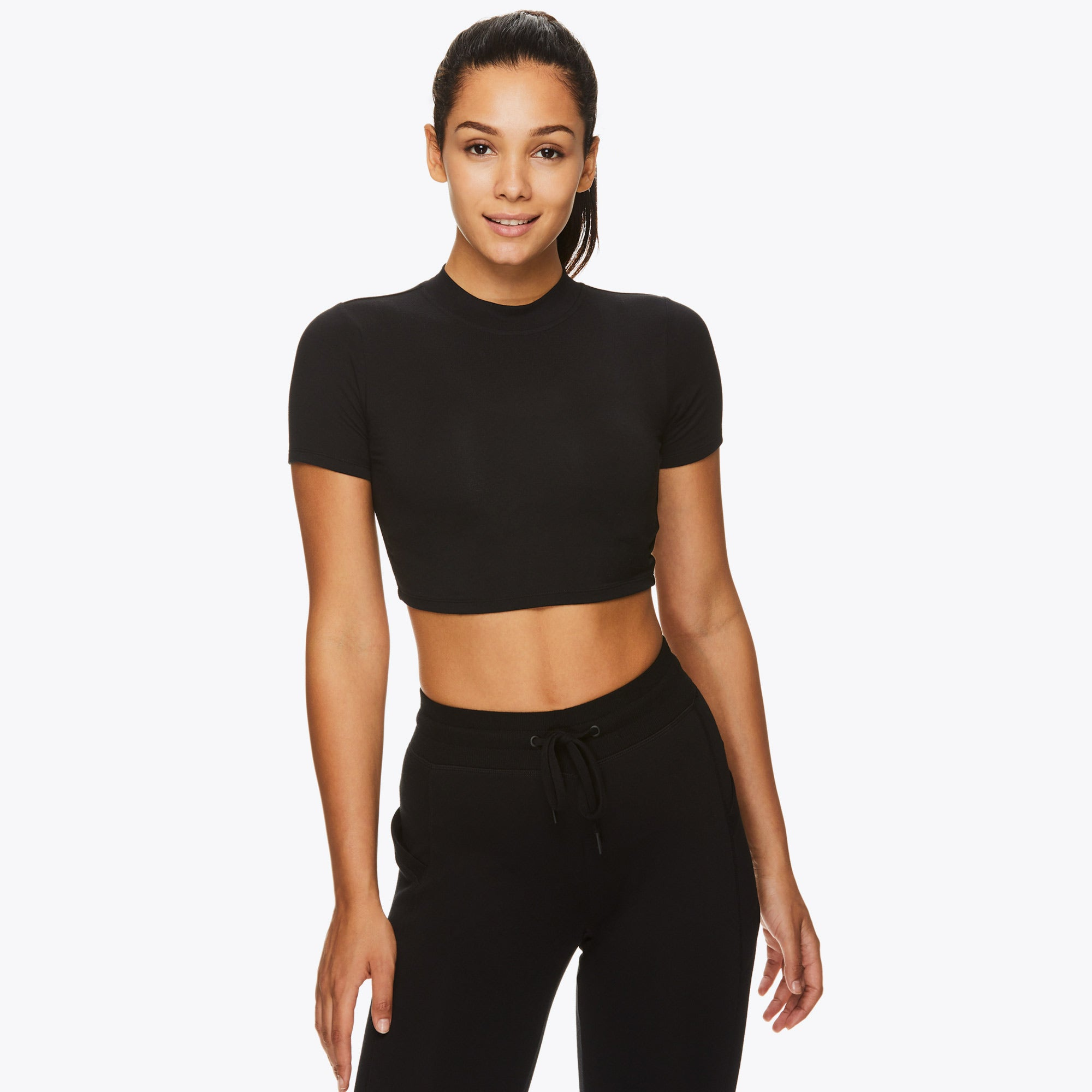 Image of Gaiam X Jessica Biel Gramercy Crop Top