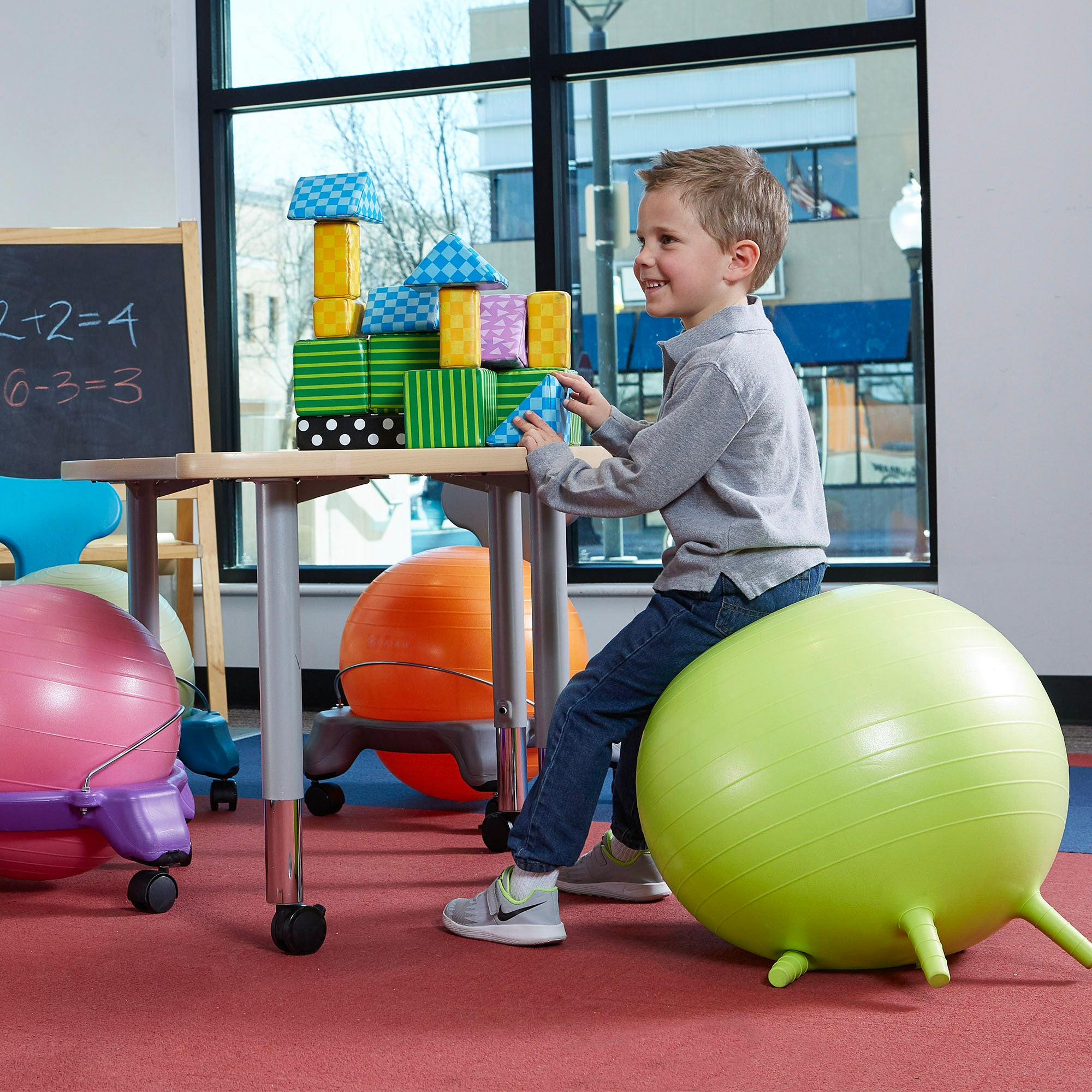 Magnificent Kids Stay N Play Ball 45Cm Caraccident5 Cool Chair Designs And Ideas Caraccident5Info