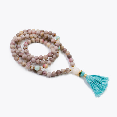 Silver & Sage Path of Truth Mala