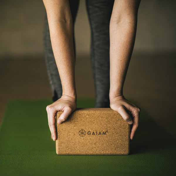 Cork Yoga Brick Gaiam