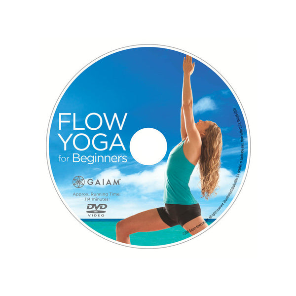 Flow Yoga For Beginners DVD With Rodney Yee & Colleen