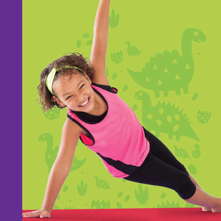 Image of Yoga for Kids: Dino-Mite Adventure for Ages 5+ DVD