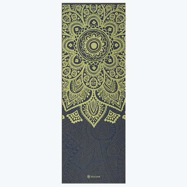 Premium Sundial Layers Yoga Mat 5mm Gaiam