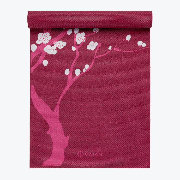 Image of Pink Cherry Blossom Yoga Mat (4mm)