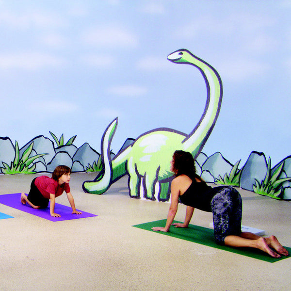 Yoga For Kids Dino Mite Adventure For Ages 5 Dvd Gaiam