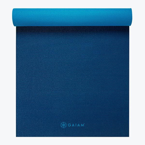 Gaiam Premium 2-Color Yoga Mats (6mm)