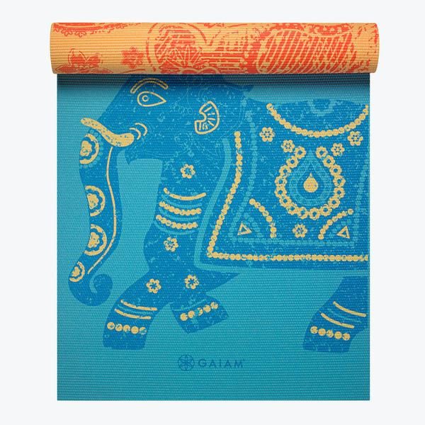 Image of Reversible Elephant Yoga Mat (6mm)