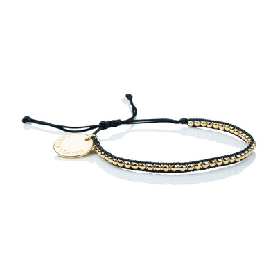 Pulsera Gold Power. Color Black