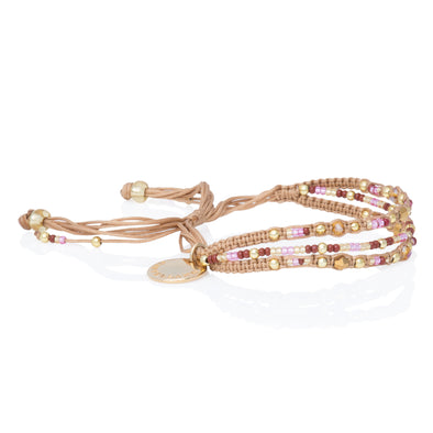 Pulsera Love Yourself - BEIGE