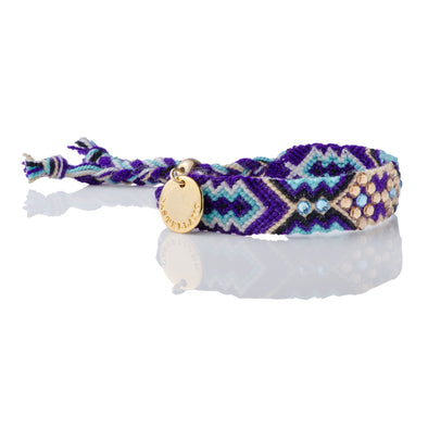 Sustainable Bracelet- Wayuu Friendship Bracelet - Purple