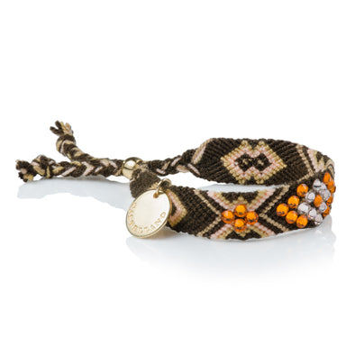 Pulsera Wayuu Give Back - Brown