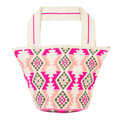 Cartera Wayuu Rose - (In stock)