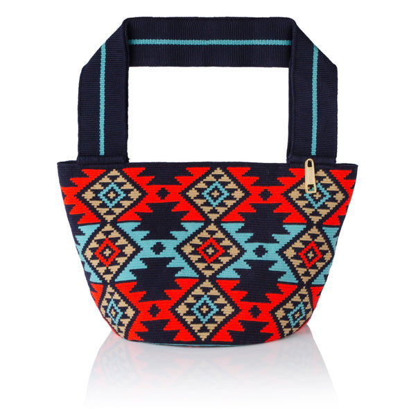 Cartera Wayuu  -Blue Navy