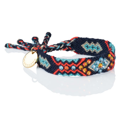 Sustainable Bracelet- Wayuu Friendship Bracelet - Blue Navy